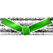 Ribbon Knot- Green