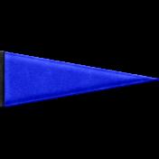 Baseball Pennant- Blue