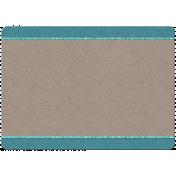 7x5 Card Teal
