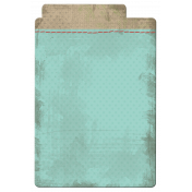 Snow Day File Tab Teal