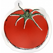 Kitchen Sticker Tomato