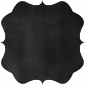 Kitchen Chalkboard Shape 004