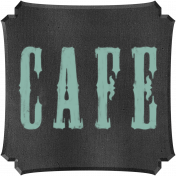 Kitchen Chalkboard Cafe
