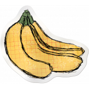Kitchen Sticker Bananas
