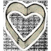 Kitchen Sticker Heart
