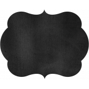 Kitchen Chalkboard Shape 005