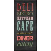 Kitchen Chalkboard Kitchen Words