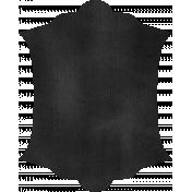 Kitchen Chalkboard Shape 001