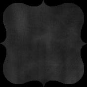 Kitchen Chalkboard Shape 003