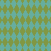 Miracle Paper Argyle 001 Green