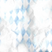 Miracle Paper Argyle 001 Wrinkle 01 Blue