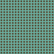 Miracle Paper Dots 001 Brown Teal