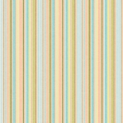 Peachy Striped Paper 59