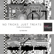 No Tricks, Just Treats Templates Bundle