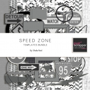 Speed Zone Templates Bundle