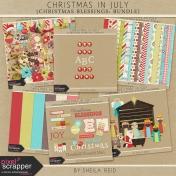 Christmas In July- Christmas Blessings Bundle