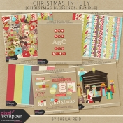 Christmas In July- Christmas Blessings Bundle