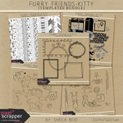 Furry Friends- Kitty Templates Bundle