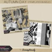 Autumn Day Templates Bundle
