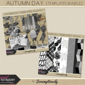 Autumn Day Templates Bundle