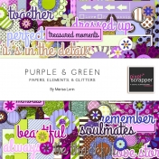Purple & Green Bundle
