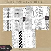 Paper Templates Bundle #21