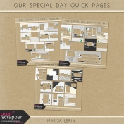 Our Special Day Quick Pages Bundle