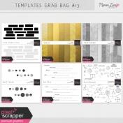 Templates Grab Bag Bundle #13