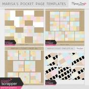 Marisa's Pocket Page Templates Bundle