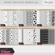 Paper Templates Bundle #32