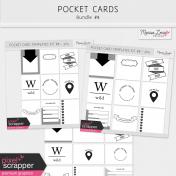Pocket Card Templates Bundle #8