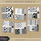 Paper Templates Bundle #1