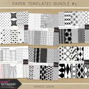 Paper Templates Bundle #3