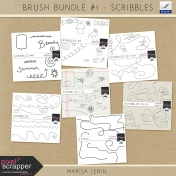 Brush Bundle #1- Scribbles
