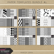 Paper Templates Bundle #5