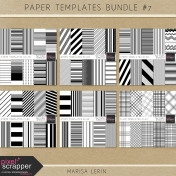 Paper Templates Bundle #7