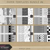 Paper Templates Bundle #8
