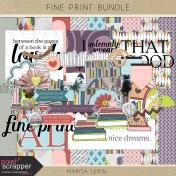 Fine Print Bundle