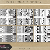 Paper Templates Bundle #11