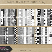 Paper Templates Bundle #13