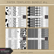 Paper Templates Bundle #15