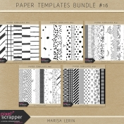 Paper Templates Bundle #16