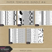 Paper Templates Bundle #18