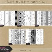Paper Templates Bundle #19
