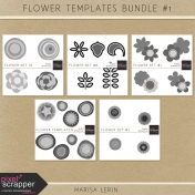 Flower Templates Bundle #1