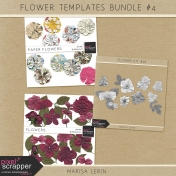 Flower Templates Bundle #4