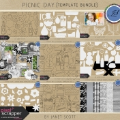 Picnic Day- Template Bundle