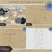 Summer Day- Template Kit