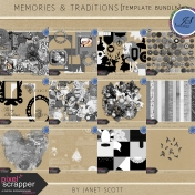 Memories & Traditions- Template Bundle
