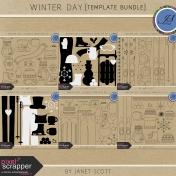 Winter Day- Template Bundle